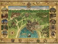 اولین نقشه کامل هاگوارتز بصورت رسمی منتشر شد